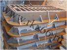 Чугунные канализационные дождеприемники ДБ 915х570х120 ГОСТ 3634-99 отгружены в г. Москва, г. Рыбинск